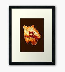 Tiger's Jungle Framed Print