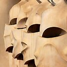 Gaudi's Knights by Michael Farruggia