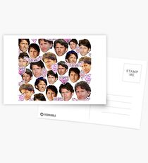 Todd Howard Collage Postcards