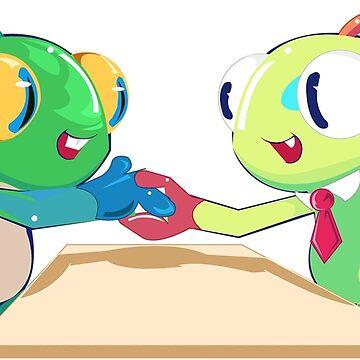 Business Handshake by Katemcalli