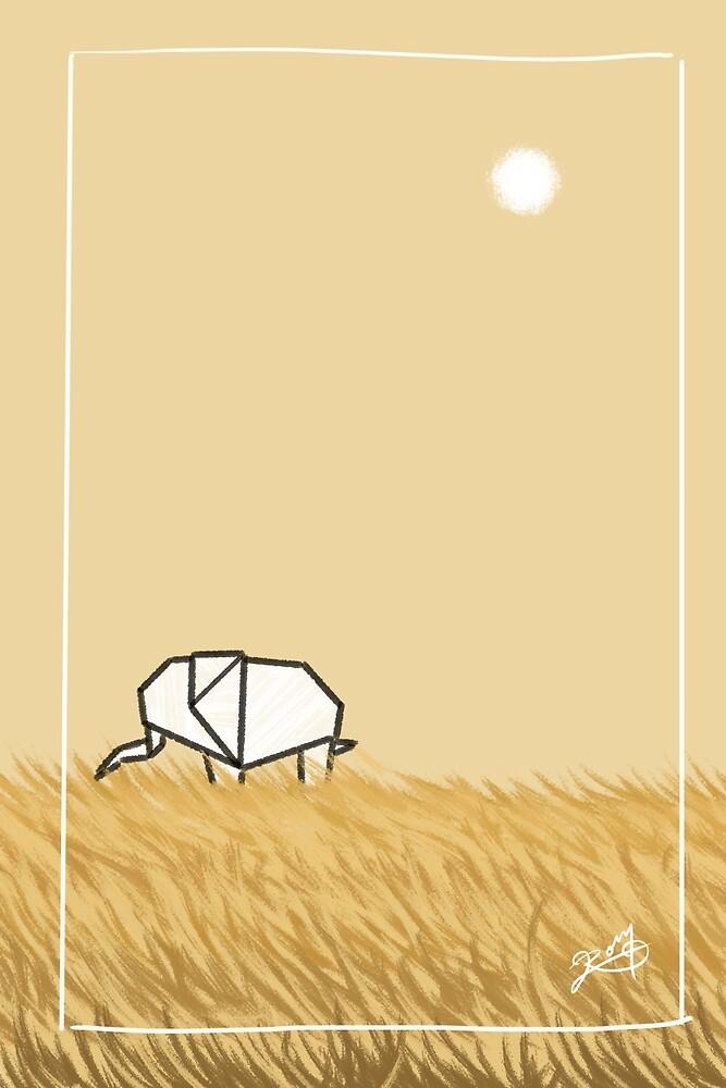 Paper / Elephant by Roger Román De la Cruz