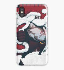 Flashing Santa iPhone Case/Skin