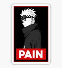 Pain Obey Design Sticker