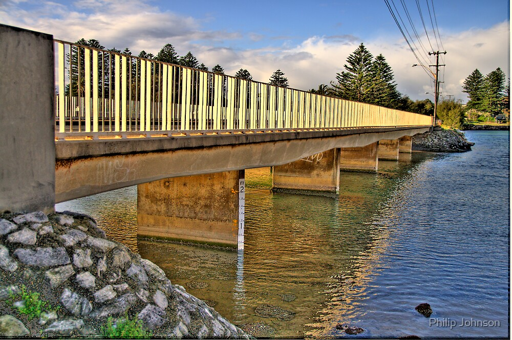 Bridging The Gap # 2 - Narrabeen Lakes - The HDR Series by Philip Johnson