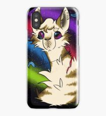 Galaxy Cat No Shading iPhone Case/Skin