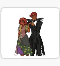 Anthea and Gabriel Sticker