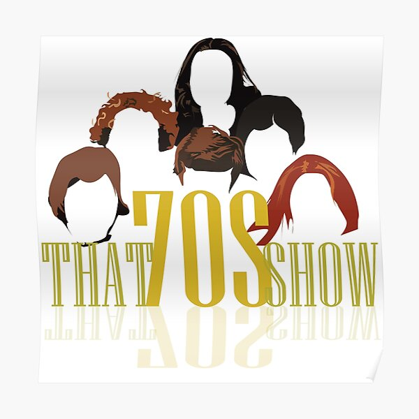 That 70s show - Retro Look Poster