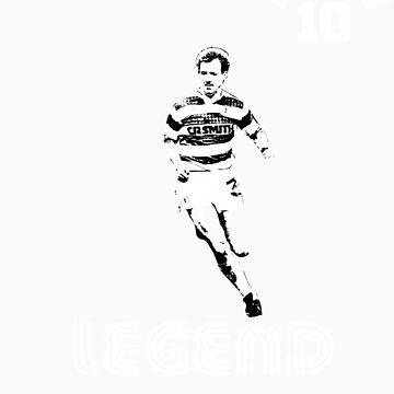 Celtic legend Tommy Burns by ScottishFitba