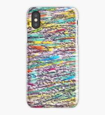 Peacock abstract seamless pattern iPhone Case/Skin