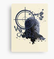 Vatican Cameos - BBC Sherlock [John Watson] Metal Print
