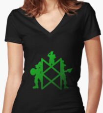 The Adventure Zone Women's Fitted V-Neck T-Shirt