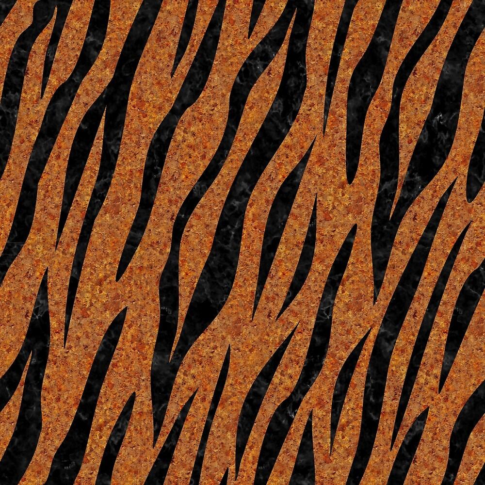 SKIN3 BLACK MARBLE & RUSTED METAL by johnhunternance