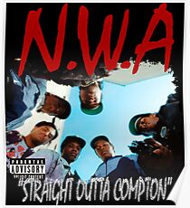 Straight Outta G Rap Poster
