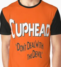 CUP HEAD DON'T DEAL WITH THE DEVIL Graphic T-Shirt