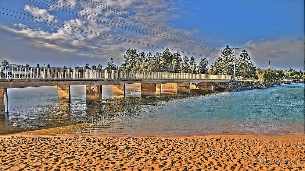 Bridging the Gap - Narrabeen Lakes - The HDR Series by Philip Johnson