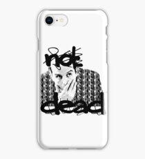 Not dead. - Sherlock BBC [Jim Moriarty] iPhone Case/Skin