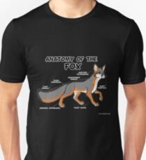 Anatomy of the Fox - grey T-Shirt