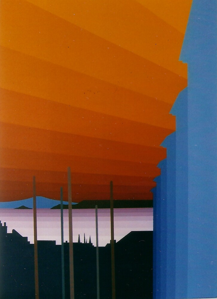 St. Ives Sunset Three by Mat McIvor