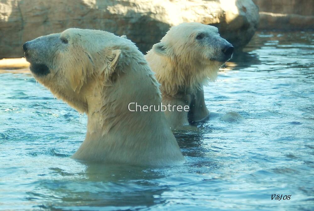 Pool Play Meditation by Cherubtree