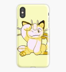 meowth sprite iPhone Case/Skin