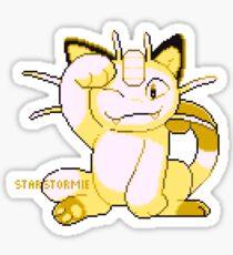meowth sprite Sticker