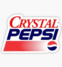 Crystal Pepsi Sticker