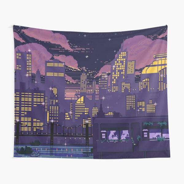 Doom over Carbon Valley Tapestry