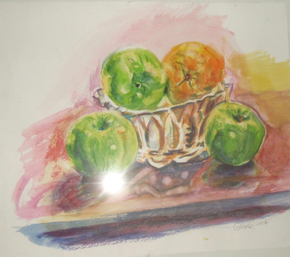 green apples by gabriele