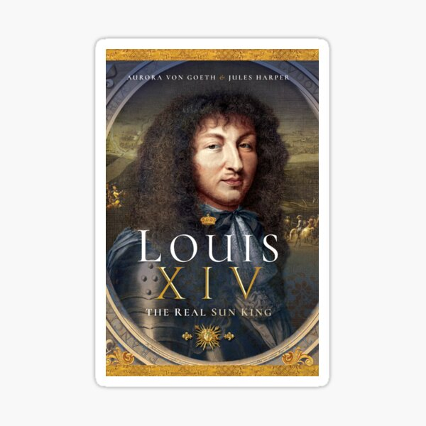 Louis XIV: The real sun king - promotional items Sticker