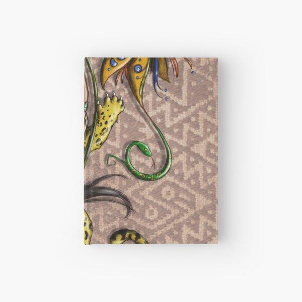 Nagual - jaguar-woman spirit Hardcover Journal