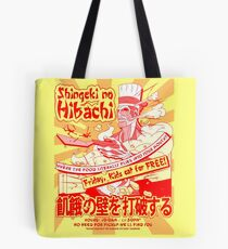 Shingeki no Hibachi (Attack on Hibachi) Tote Bag