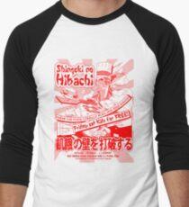 Shingeki no Hibachi (Attack on Hibachi) Men's Baseball ¾ T-Shirt