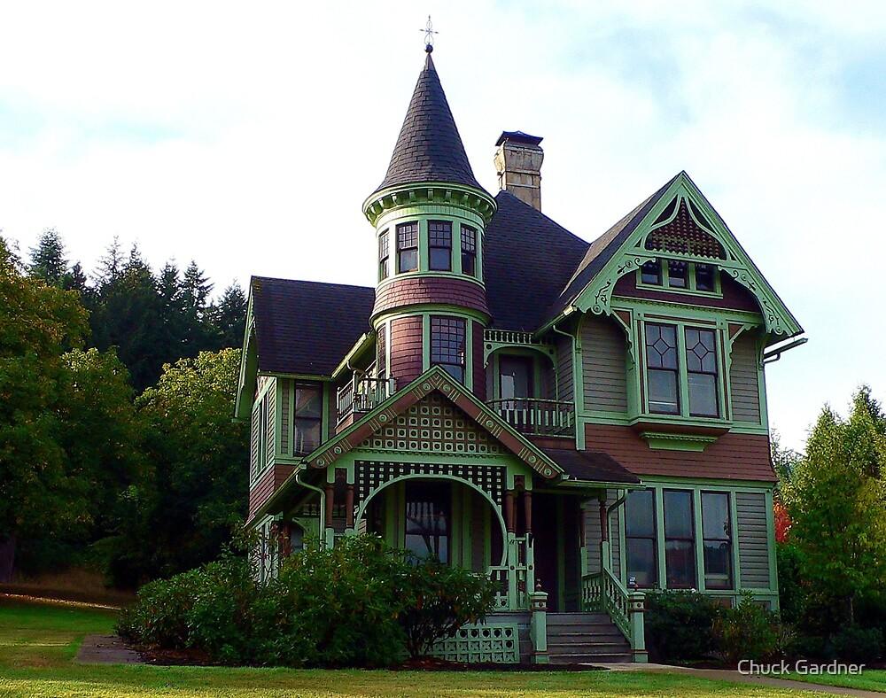 A Castle in Drain, Oregon by Chuck Gardner