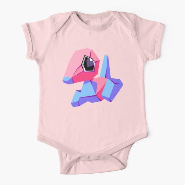 Porygon Short Sleeve Baby One-Piece