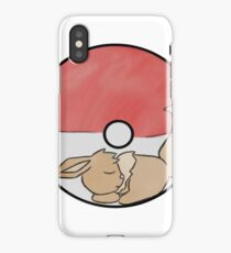 Sleeping Eevee iPhone Case/Skin