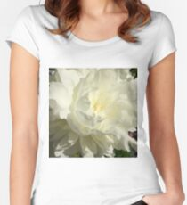 Delicate Blossom Women's Fitted Scoop T-Shirt