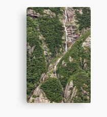 Gros Morne Waterfall Canvas Print