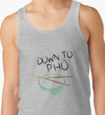 Down to Pho Color Tank Top