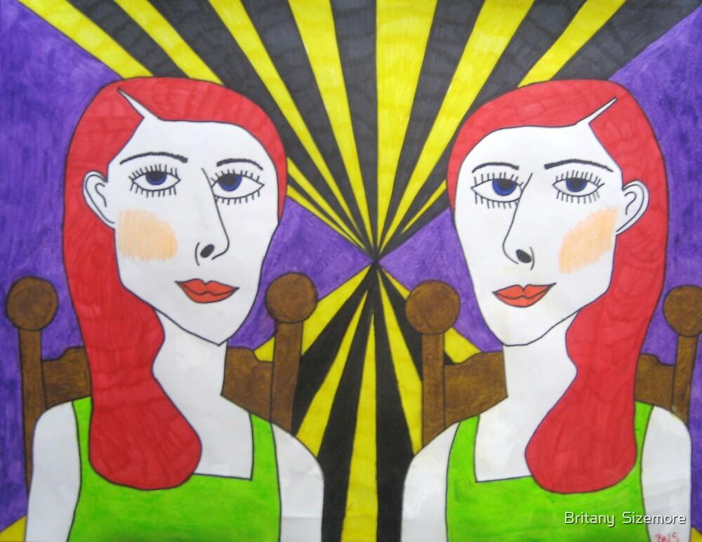 strange twins by Britany  Sizemore