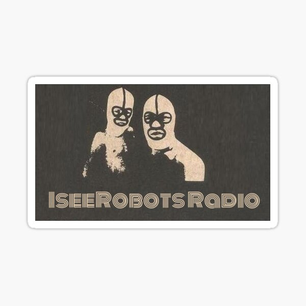 IseeRobots. The Destroyers  Sticker