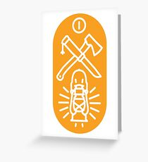 The Great Outdoors- Spotlight Greeting Card