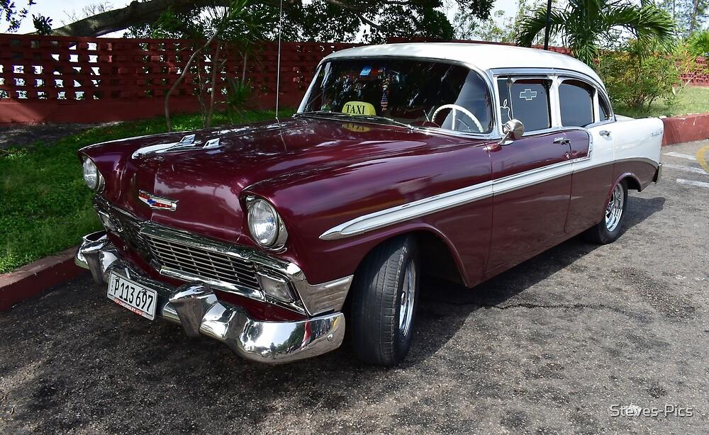 Classic Cars of Cuba by Steves-Pics