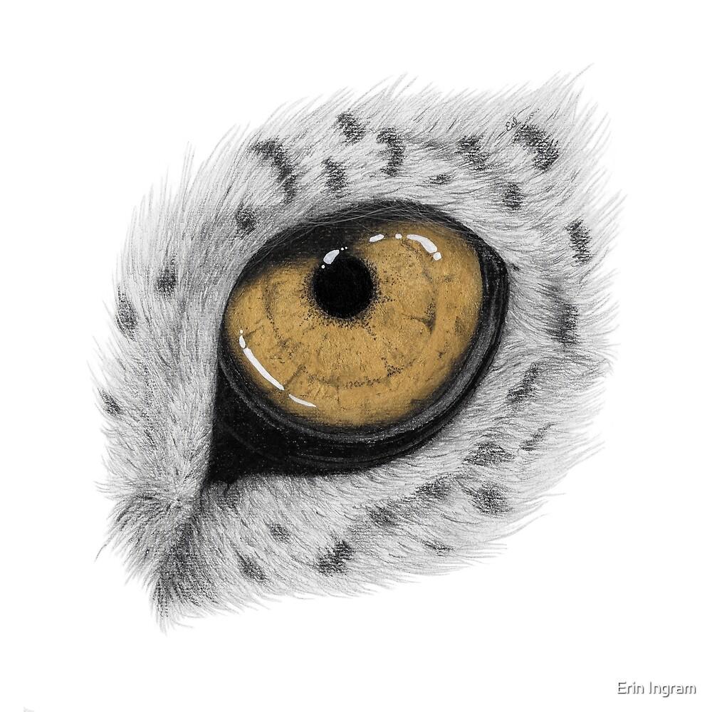 Gold Leopard Eye by Erin Ingram