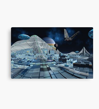 Brree Space. Canvas Print