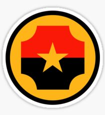 Roundel of the Nicaraguan Air Force Sticker