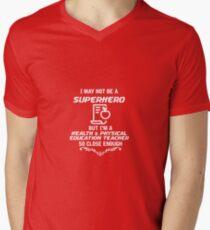 Not Superhero Health & Physical Education Teacher T-Shirt