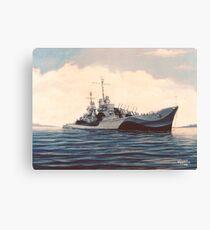 USS San Juan - Cruiser Canvas Print