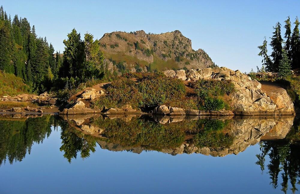 Mountain Reflection by Corey Bigler