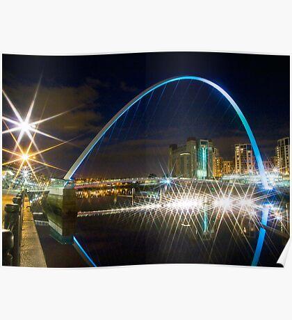 Millennium Bridge Again Poster