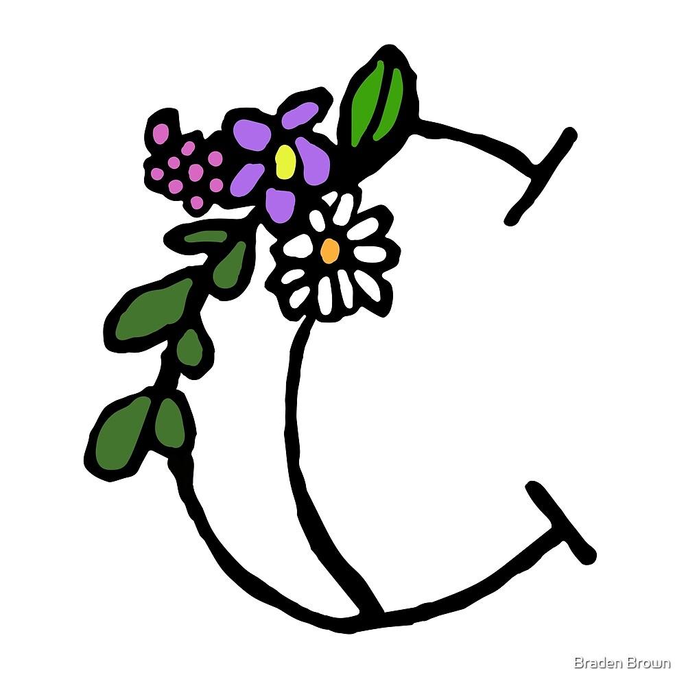 Flower Alphabet-C by Braden Brown